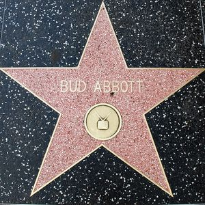 Bud Abbott's Walk of Fame Star.jpg