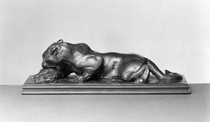 Fichier:Antoine-Louis Barye - Jaguar Devouring an Agouti - Walters 2785.jpg