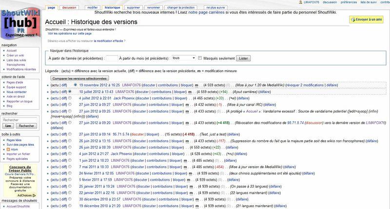 Fichier:Historique de la page principale ShoutWiki.jpg