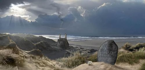 File:Dobby's grave and Shell Cottage concept artwork.jpg