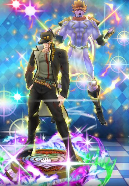 (5★) Jotaro Kujo ~ You pissed me off ~ (Courage) Statue