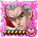 (6★) Yoshikage Kira (Kosaku Kawajiri) (Fighting Spirit) icon.png