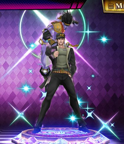(6★) Jotaro Kujo (Courage) Statue