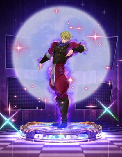 (6★) Dio Brando ~ Emperor in the moonlight (Fighting Spirit) Statue