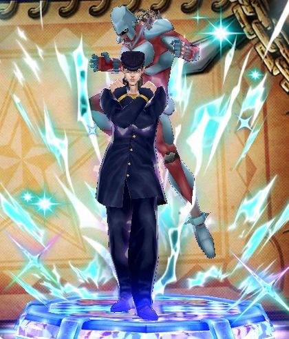 (6★) Josuke Higashikata ~ The guardian of the city (Unity) Statue