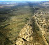 San Andreas Fault, Carrizo Plain, California