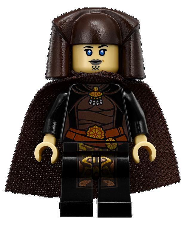 LEGO Star Wars Luminara Unduli JEDI Minifigure 7869