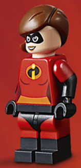 MRS INCREDIBLE MINIFIGURE FROM SET 10760 NEW LEGO DISNEY THE INCREDIBLES 2