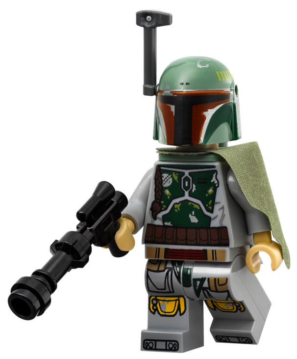 Advent Calander Slave 1 Boba Fett Child Lego Minifigure