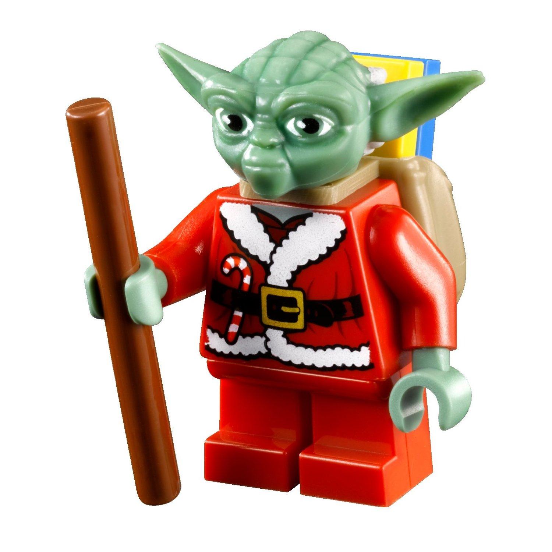 7958 Star Wars Advent Calendar Brickipedia The Lego Wiki 7665 Republic Cruiser Santa Yoda