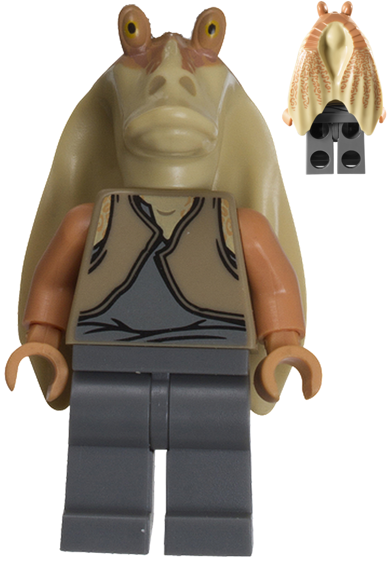 Jar Jar Binks Brickipedia The Lego Wiki