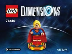 71340 Supergirl - Brickipedia, the LEGO Wiki