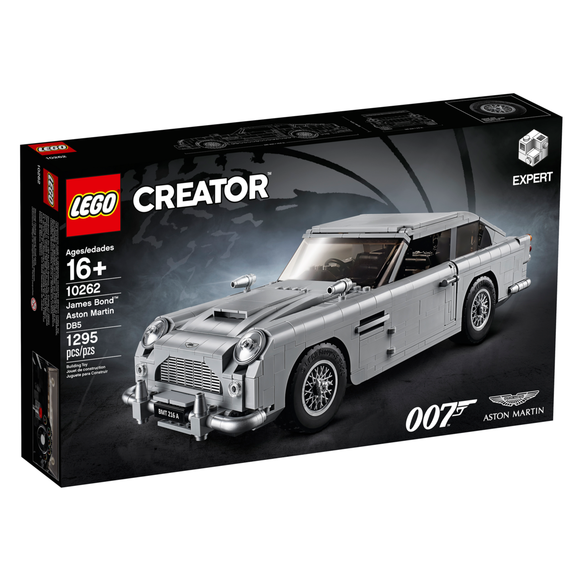10262 james bond aston martin db5 - brickipedia, the lego wiki