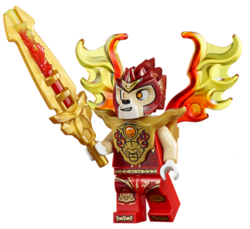 LEGO Legends of Chima LENNOX in GOLD ARMOUR from Lion Tribe Minifigure /& Weapons//Accessories