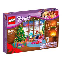 LEGO Friends Advent Calendar 2014 box front -41040 largest size right side view.jpg