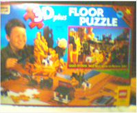 08098 Rose Art Floor Puzzle, Wild West, 3D.jpg