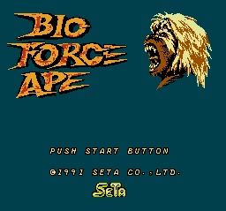 Bio Force Ape Title Screen.PNG