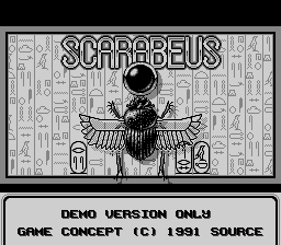 File:Scarabeus Title Screen.PNG