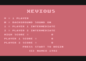Xevious Title Screen.png