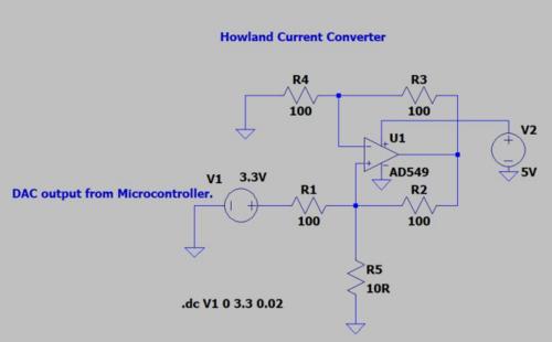 Voltage-To-Current Converter