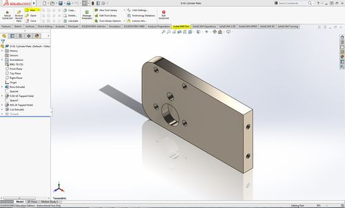 Solidcam HAAS Mill Startup Guide - Mindworks