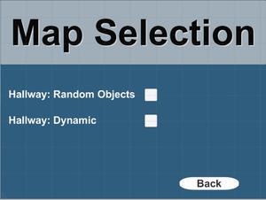 Map Select Menu