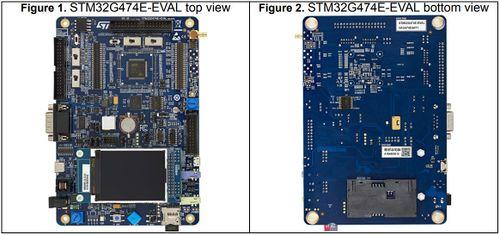Diagram of the STM32G474E-EVAL