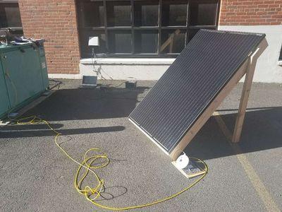 Solar panel array model for UI FESS development - Mindworks