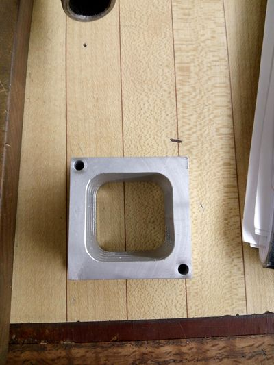 Part that will be attached to the plate for the gripper to grab.