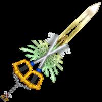 Het complete χ-zwaard.