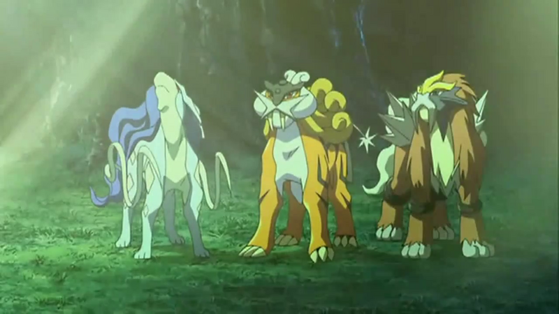 File:Shiny Suicune, Raikou, and Entei.png