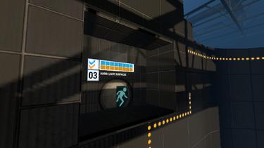 Portal 2 Co-op Course 3: Hard-Light Surfaces - Portalpedia