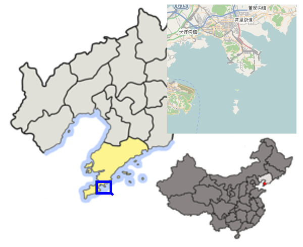 Archivo:Loc of Dalian Prefecture within Liaoning (China).PNG