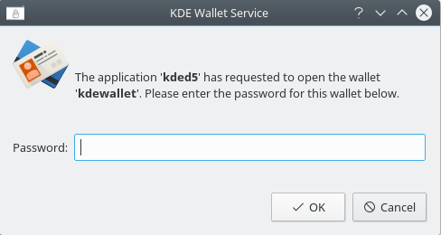 KDE Wallet Service popup.png