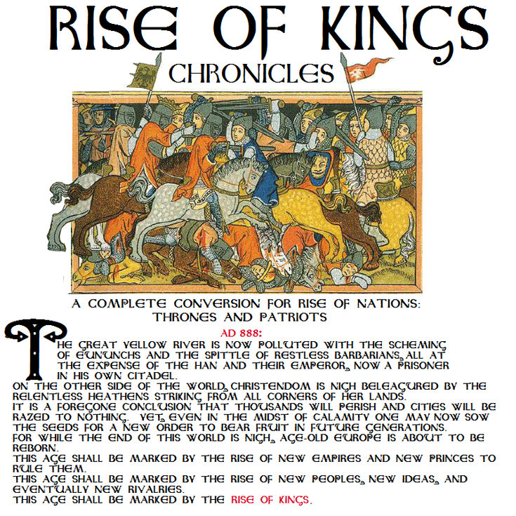 The banner image for Rise of Kings