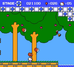 Stage 2 Hello Kitty World Famicom.png