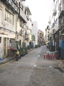 Yet another back alley parallel to Boat Quay