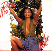 "The cover of Diana Ross' album, ""The Boss""."
