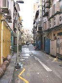 Back alley parallel to Boat Quay