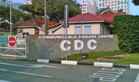The Communicable Disease Centre along Moulmein Road.