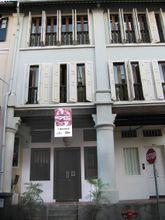 External facade of Club 95 viewed from Club Street.