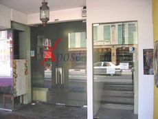 The entrance of Xposé Bar & Restaurant