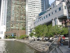 South-western bank of Boat Quay