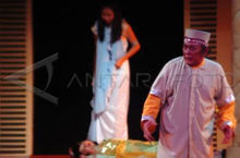 The Hikayat Panji Semirang performed as a play by an Indonesian theatre company.