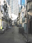 Another back alley parallel to Boat Quay