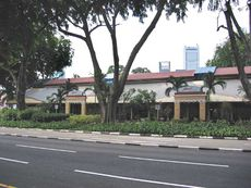 Maxwell Food Centre, located along Maxwell Road at the base of Ann Siang Hill, is a popular hangout for gay night owls on weekends after the nearby pubs close.