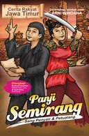 "Cover of one of the series of Indonesian illustrated books ""Folk Tales of East Java""."