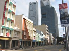 The row of shophouses along South Bridge Road where Spartacus was located, at unit no. 69.