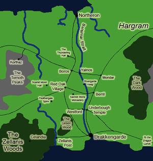 Map of Orodeth