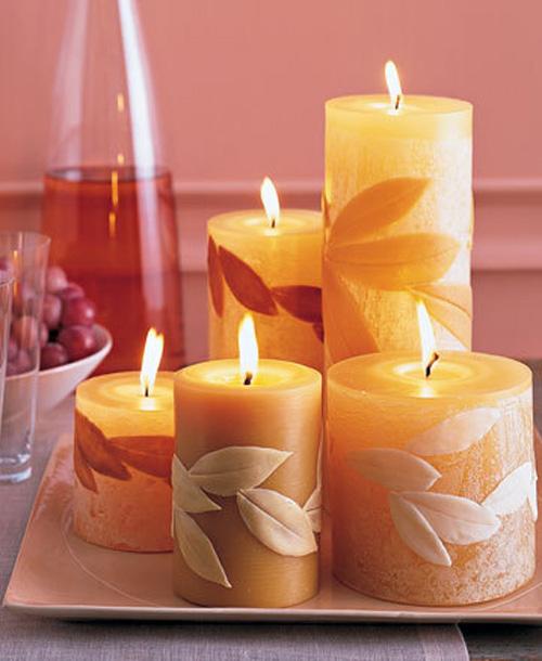 Как сделать красивую свечку своими руками фото